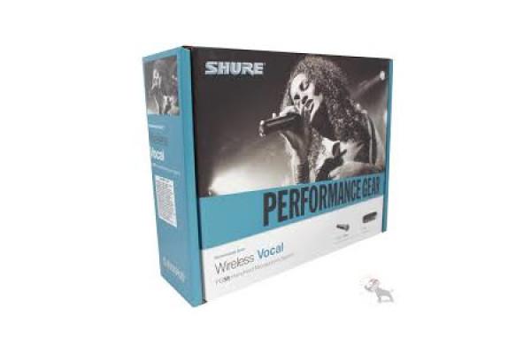 PG24E/PG58 El micrófono vocal inalámbrico más accesible de Shure