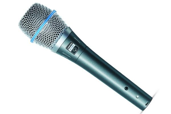 BETA87A MICROFONO VOCAL CONDENSADOR