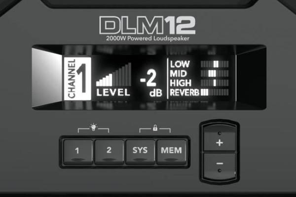 "DLM12S 2000W 12"" SubWoofer Activo"