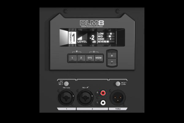 DLM8 CAJA AMPLIF 2000W