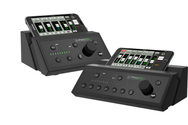 PRODX4 Mezclador digital inalámbrico de 4 canales