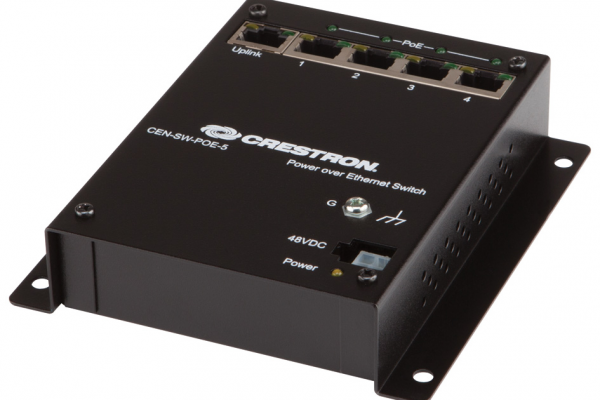 CEN-SW-POE-5 5 PORT PoE SWITCH CRESTRON