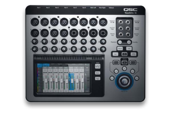 TOUCHMIX-16-EU  Mezclador Digital Compacto De 22 Canales