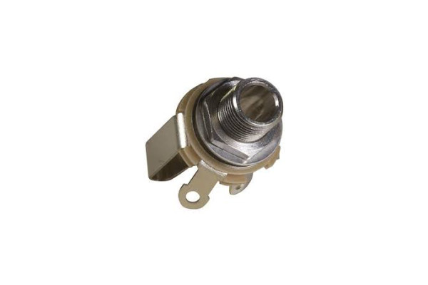 "ZL12B CONECTOR JACK 1/4"" STEREO HEMBRA CHASIS"