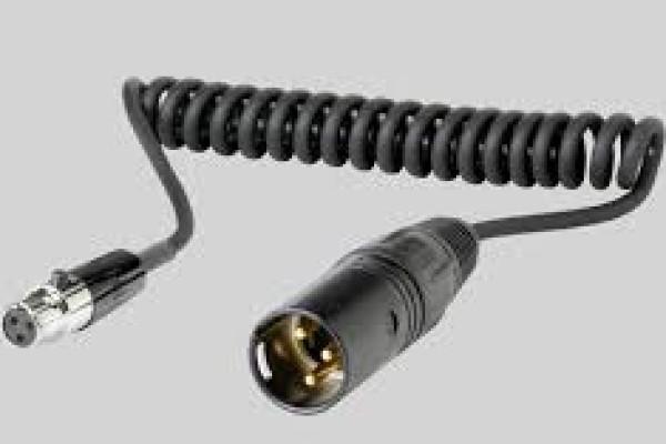 WA451 Cable de audio de TA3F a XLR de 30 cm.