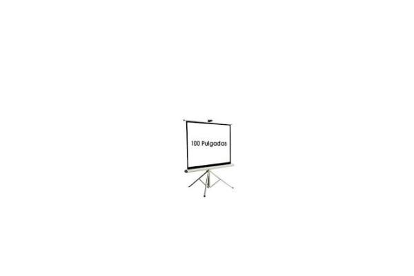 "PANTALLA DE VIDEO 100"" NTSC 1.52X2.03 MTS 215009C/TRIPODE"