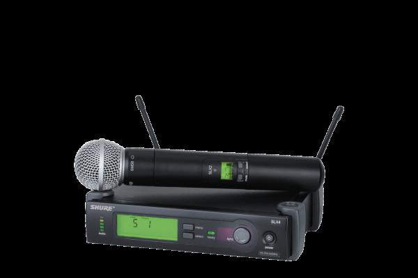 SLX24/SM58A-G4 MICROFONO VOCAL CON SM58A