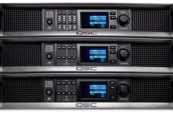 CXD8.8Q-EU  Amplificador DSP (Ethernet) De 8 Canales