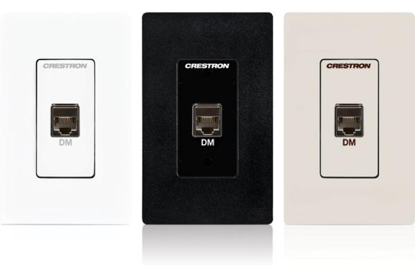 MP-WP181 Placa de pared para presentaciones multimedia - Crestron DigitalMedia 8G + ™, negro