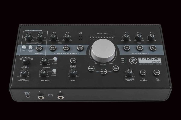 BIG KNOB STUDIO+ CONTROL MONITOR e INTERFACE USB