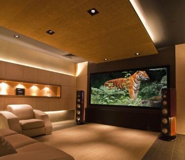 CINE EN CASA - Instalación de sistemas de audio de alta fidelidad para Home Theater.